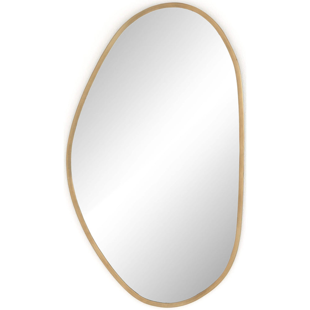 Brinley Mirror, Antique Brass - Accessories - High Fashion Home