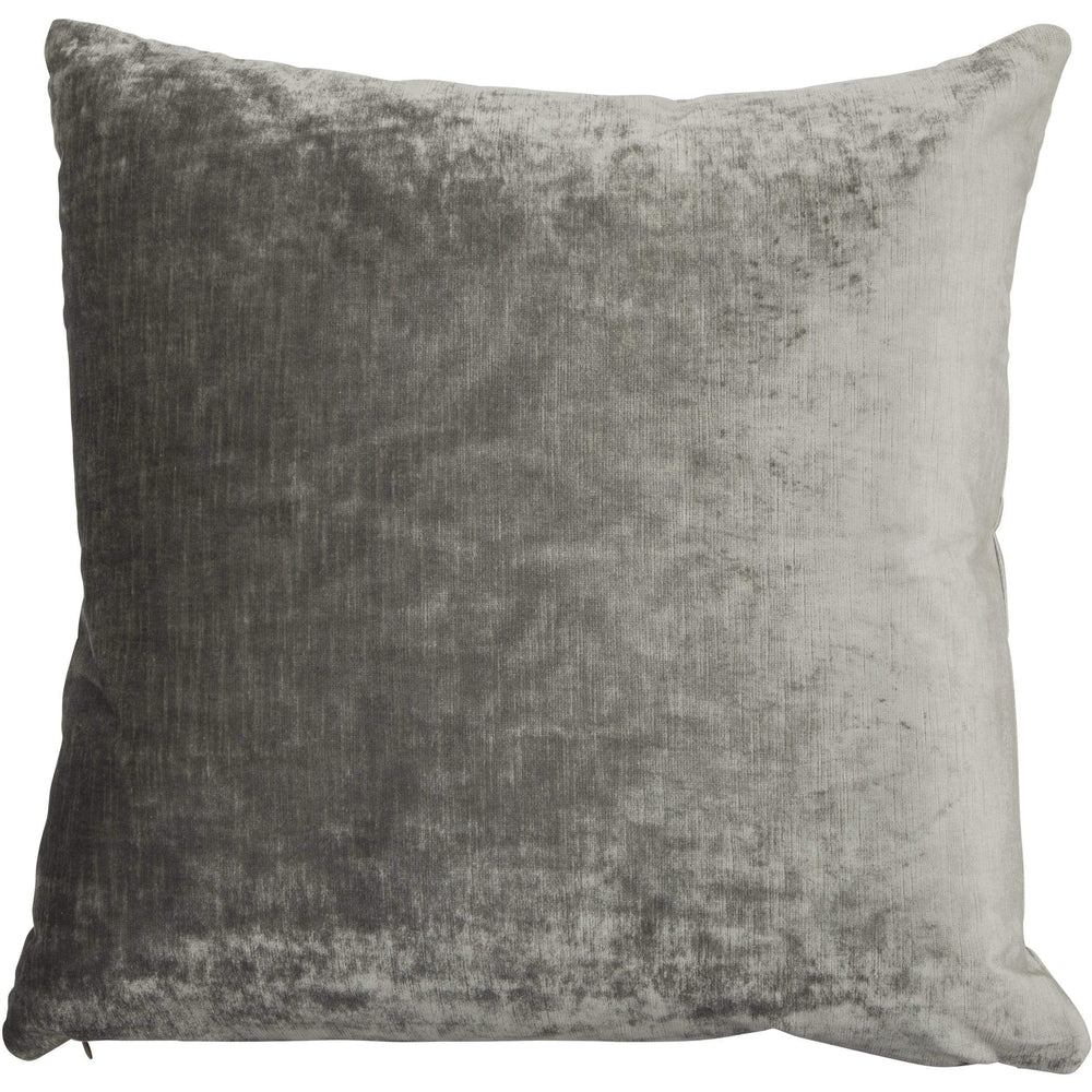 Brussels Throw Pillow, Charcoal - Accessories - High Fashion Home