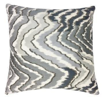 Cloud 9 Mayaro Grey Ombre Pillow - Accessories - High Fashion Home