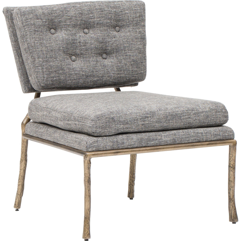 Cabot Chair, Beige Grey - Modern Furniture - Accent Chairs - High Fashion Home