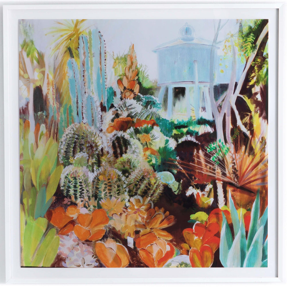 Cactus Garden by Julie Moss - Accessories Artwork - High Fashion Home