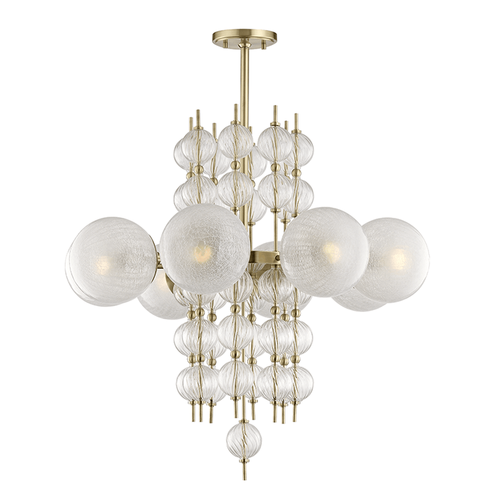 Calypso 8 Light Chandelier - Lighting - High Fashion Home