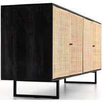 Carmel Sideboard, Black - Furniture - Storage - High Fashion Home
