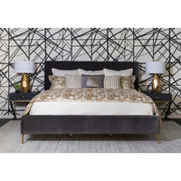 Scratch Duvet Set, Gold - Accessories - High Fashion Home