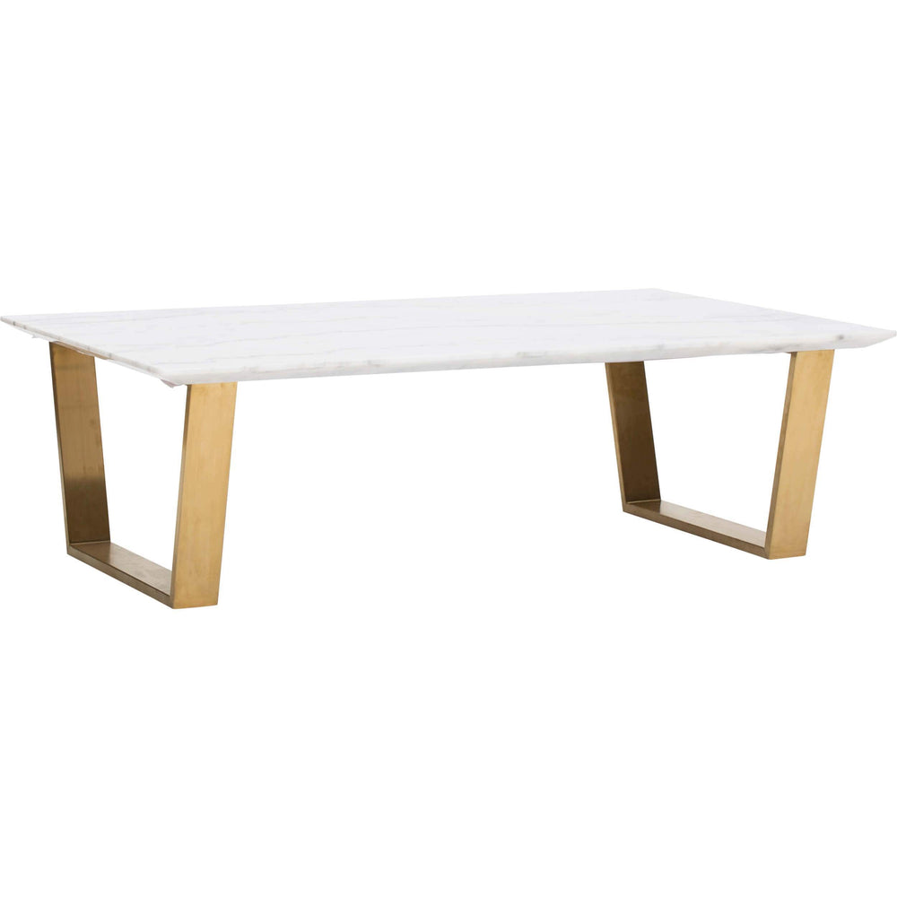 Catrine Coffee Table, Gold - Modern Furniture - Coffee Tables - High Fashion Home