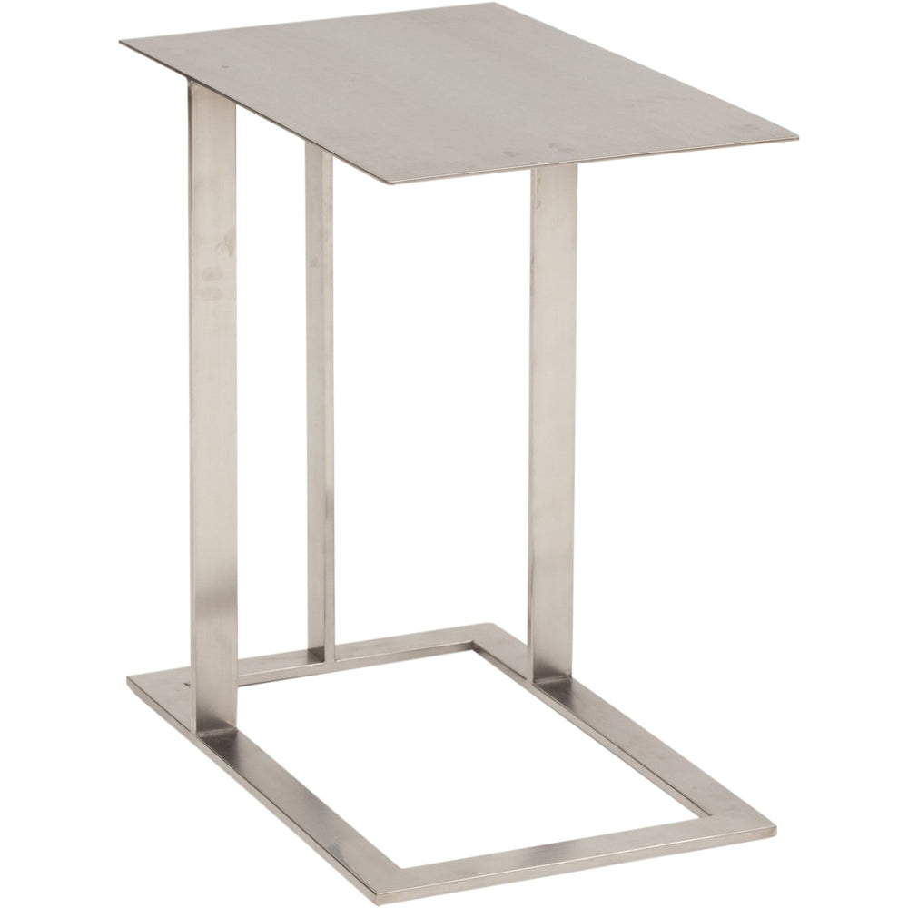 Celine Side Table, Silver - Furniture - Accent Tables - High Fashion Home