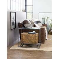 Cork Chairside Table - Furniture - Accent Tables - High Fashion Home
