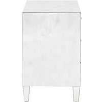 Cheval Mirrored Nightstand - Furniture - Bedroom - High Fashion Home