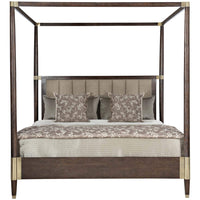 Clarendon Canopy Bed - Modern Furniture - Beds - High Fashion Home