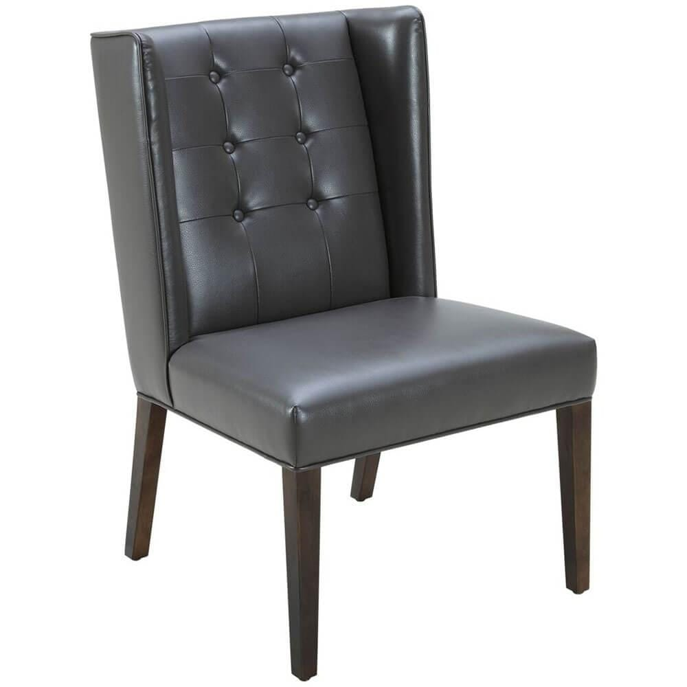 huge selection of b866f 17e6e Clarkson Dining Chair, Grey Leather