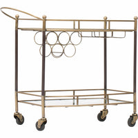 Coles Bar Cart - Furniture - Accent Tables - High Fashion Home