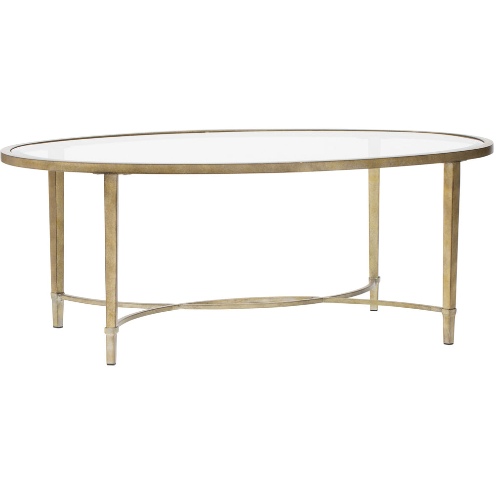 Copia Oval Cocktail Table - Furniture - Accent Tables - Coffee Tables