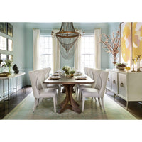 Corsica Rectangle Pedestal Dining Table - Furniture - Dining - Dining Tables