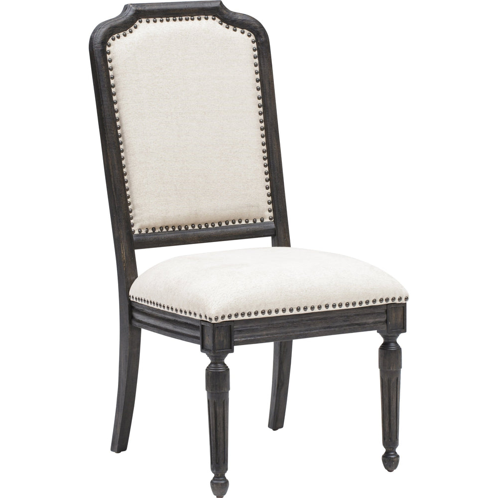 Corsica Side Chair, Black - Furniture - Dining - Chairs & Benches