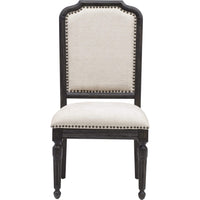 Corsica Side Chair, Black - Furniture - Dining - High Fashion Home