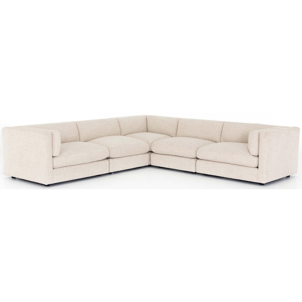 Cosette 5 Piece Sectional