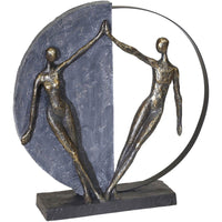 Couple Figurine, Bronze - Accessories - High Fashion Home