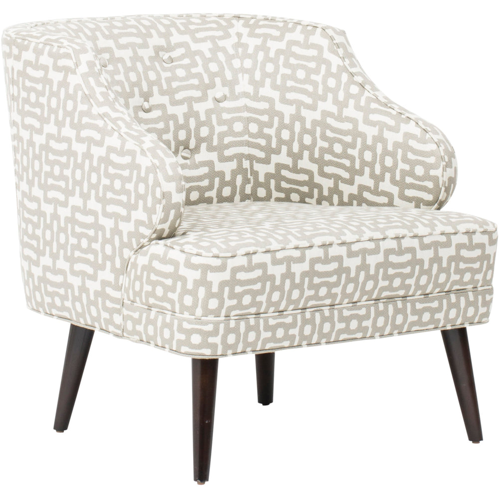 Courtney Chair, Wanli Pewter - Furniture - Chairs - Fabric