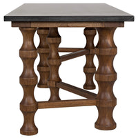 Creo Desk, Dark Walnut - Furniture - Office - High Fashion Home