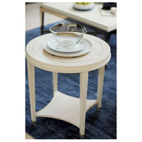 Criteria Round End Table  - Furniture - Accent Tables - End Tables