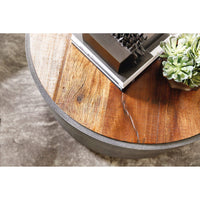 Crosby Round Coffee Table - Modern Furniture - Coffee Tables - High Fashion Home