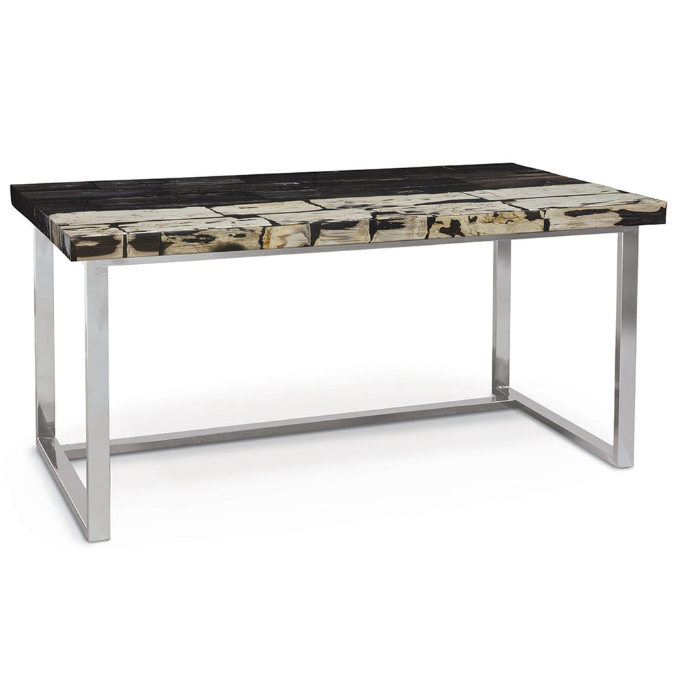 Crosby Petrified Wood Desk - Furniture - Office - High Fashion Home
