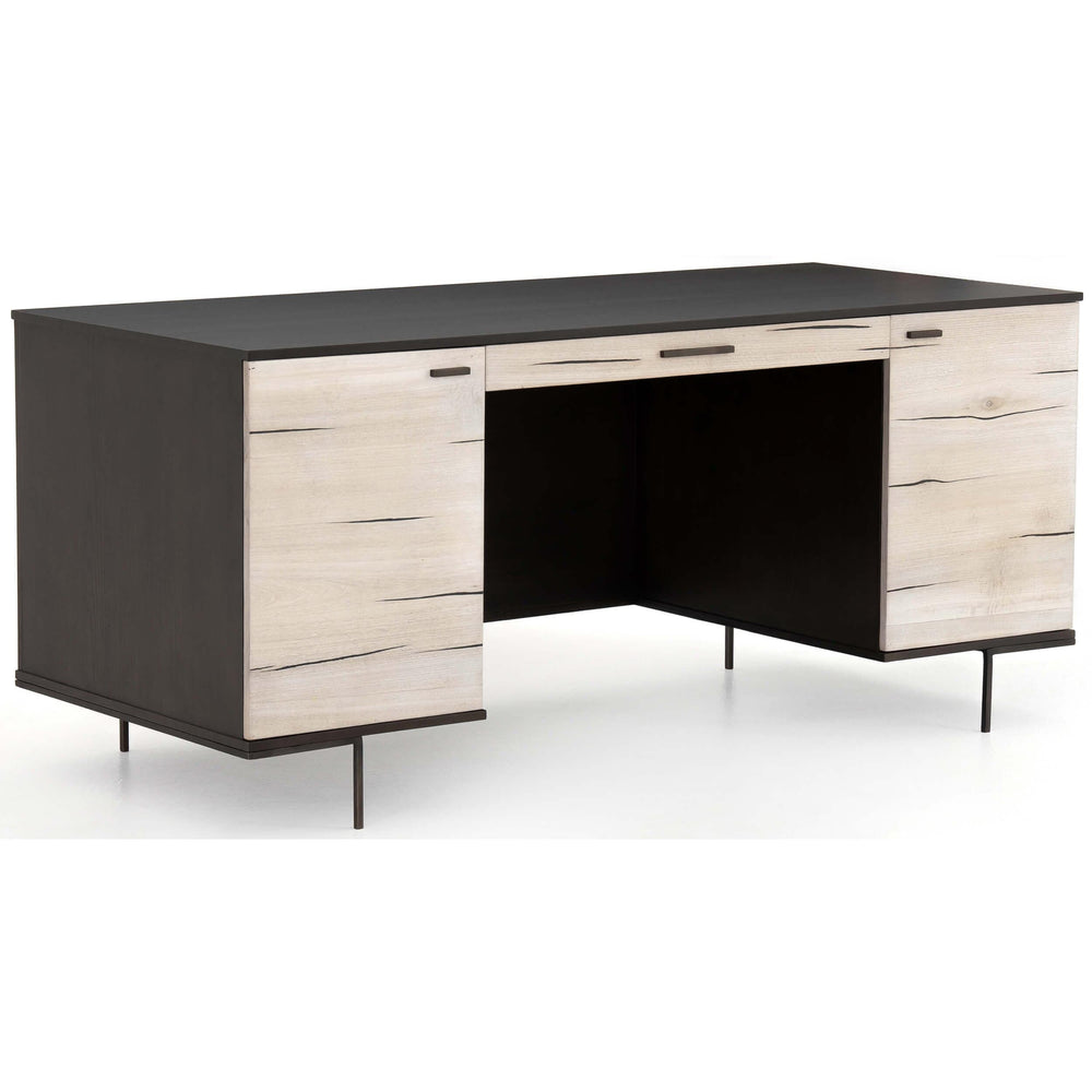 Cuzco Desk, Bleached Yukas - Furniture - Office - High Fashion Home