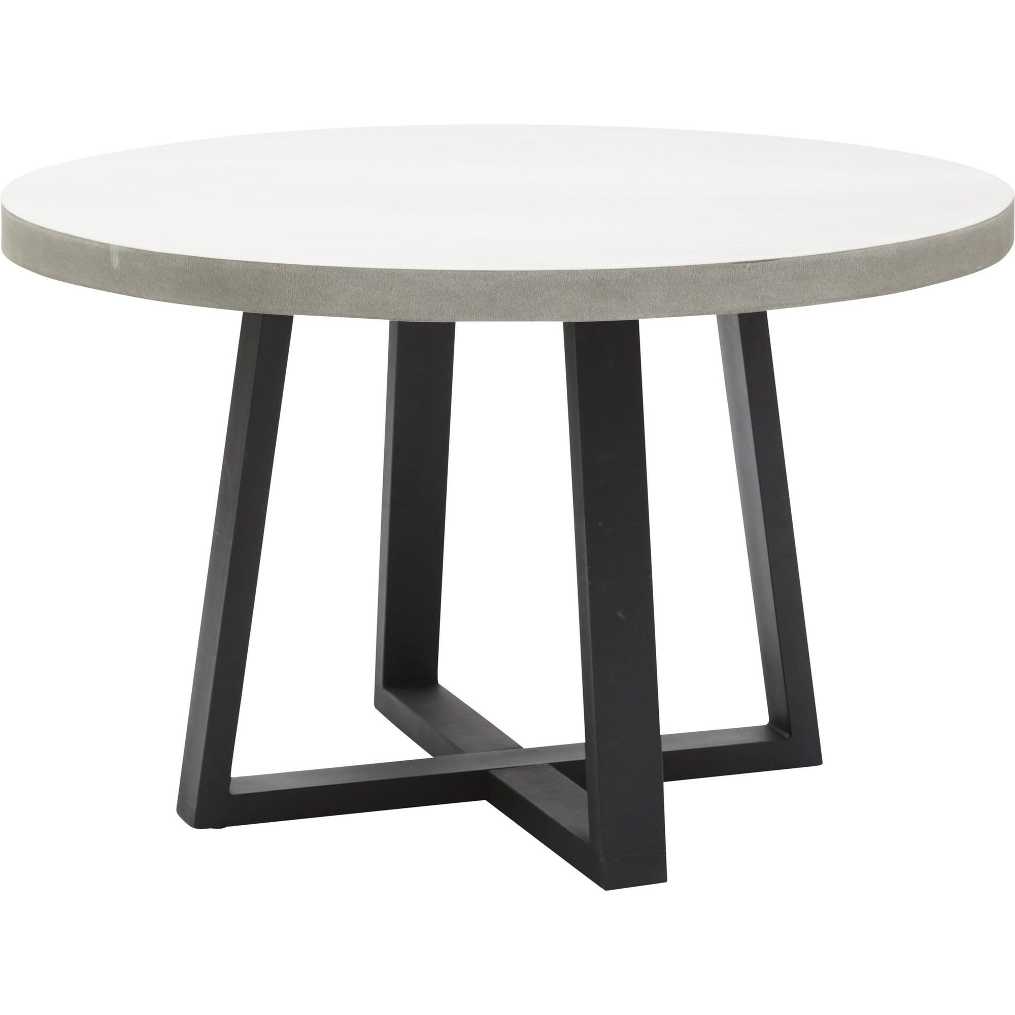 Cyrus 48 Round Dining Table High Fashion Home