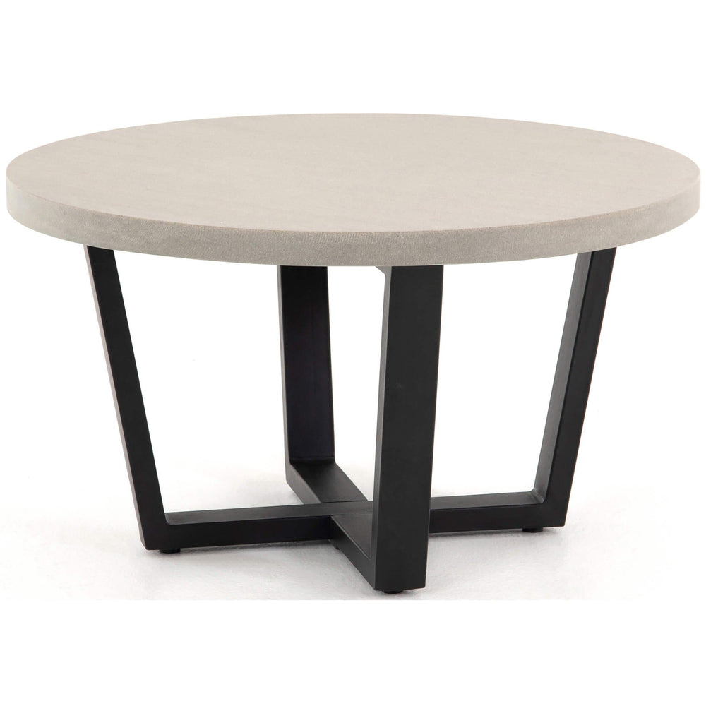 Cyrus Round Coffee Table - Modern Furniture - Coffee Tables - High Fashion Home