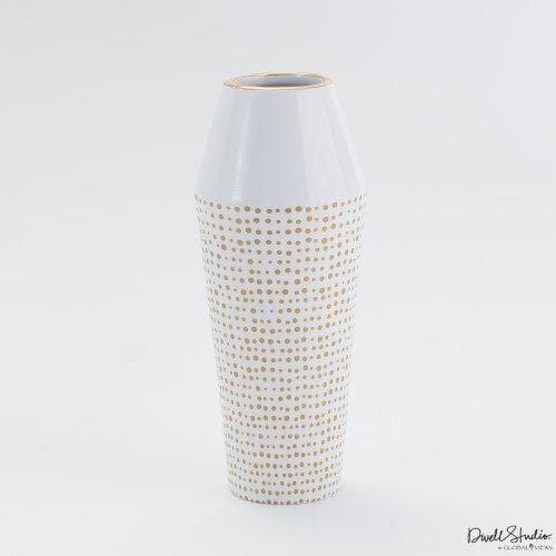 Ballinger Vase - Accessories - Tabletop - White & Natural