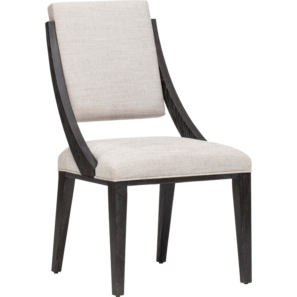 Decorage Sloped Side Chair - Furniture - Chairs - High Fashion Home