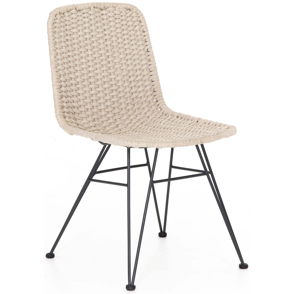 Dema Outdoor Dining Chair, Natural