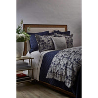 Diamond Quilted Coverlet Set, Navy - Accessories - High Fashion Home
