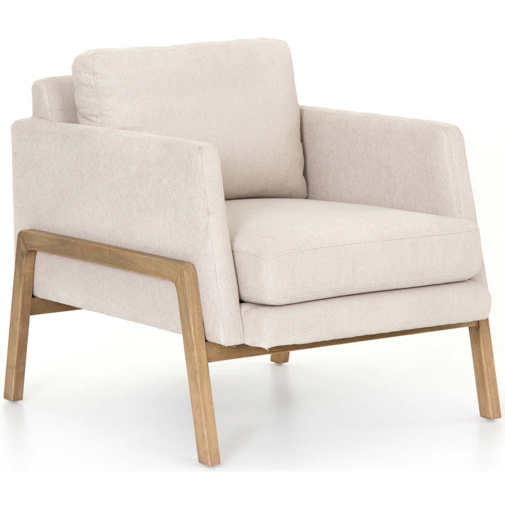 Diana Chair, Vail Ecru - Modern Furniture - Accent Chairs - High Fashion Home