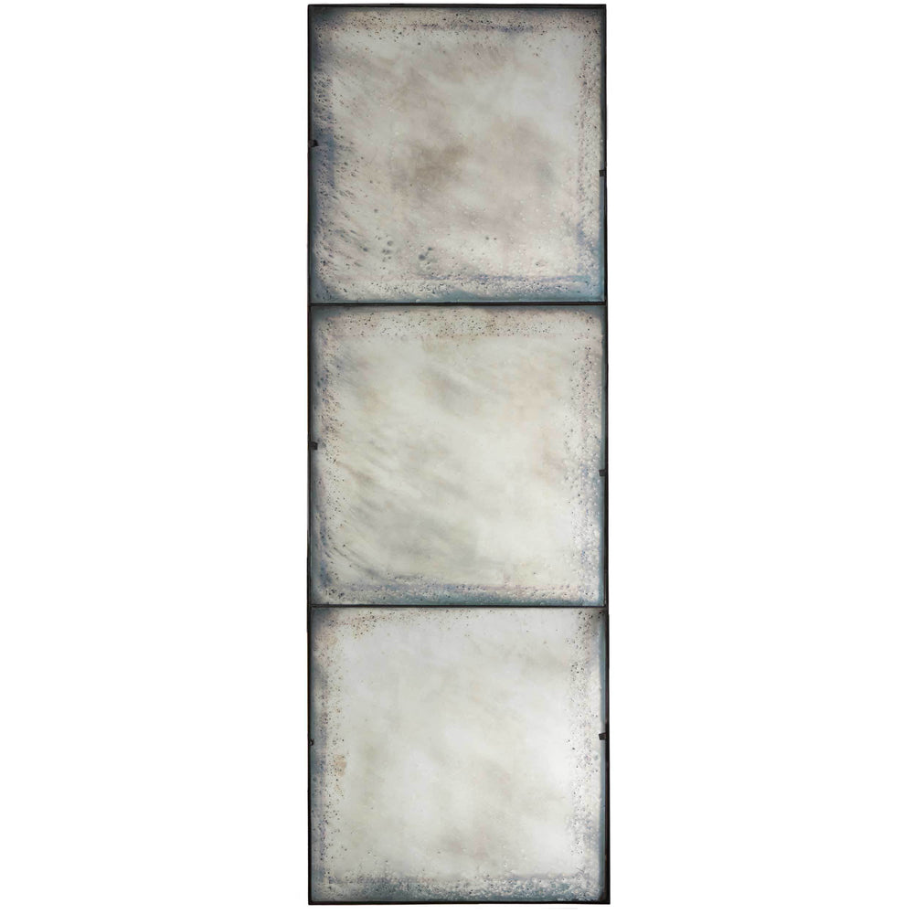 Three Panel Antiqued Mirror - Accessories - High Fashion Home
