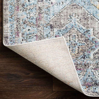 Loloi Rug Dante DN-03, Granite/Light Blue - Rugs1 - High Fashion Home