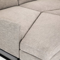 Drew Pit Sectional - Modern Furniture - Sectionals - High Fashion Home