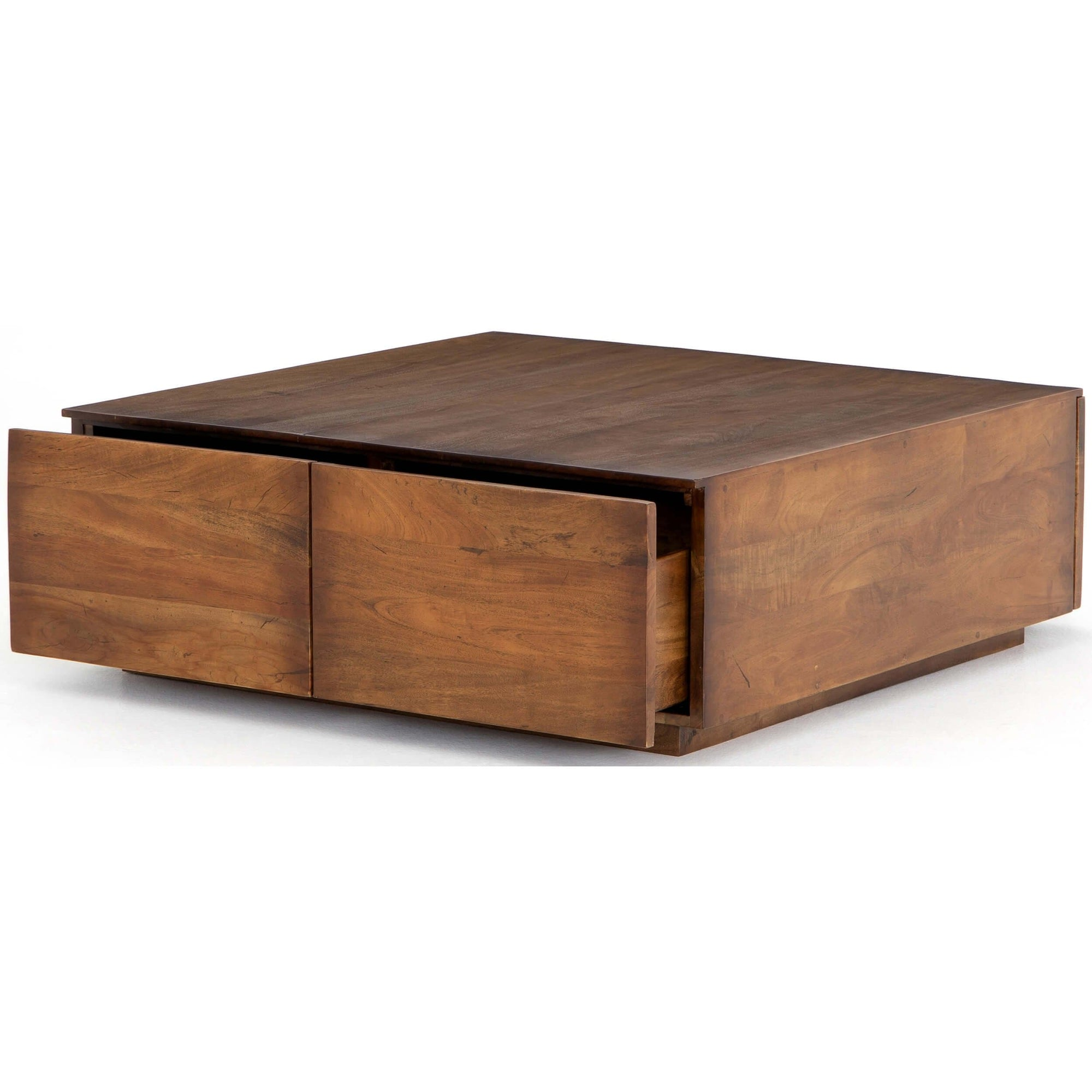 Duncan Storage Coffee Table Reclaimed Fruitwood High Fashion Home