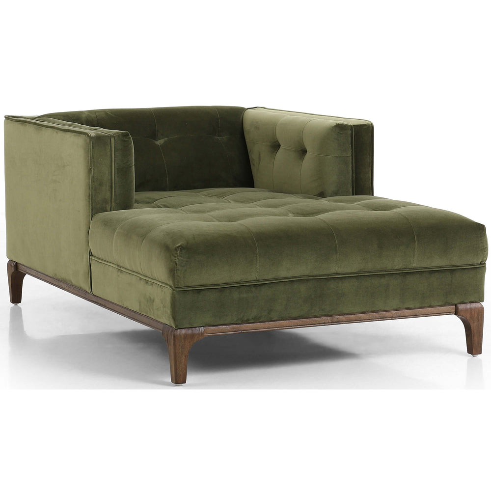 Dylan Chaise, Sapphire Olive - Furniture - Chaises & Benches