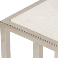 Echelon Sofa Hugger End Table - Furniture - Accent Tables - High Fashion Home