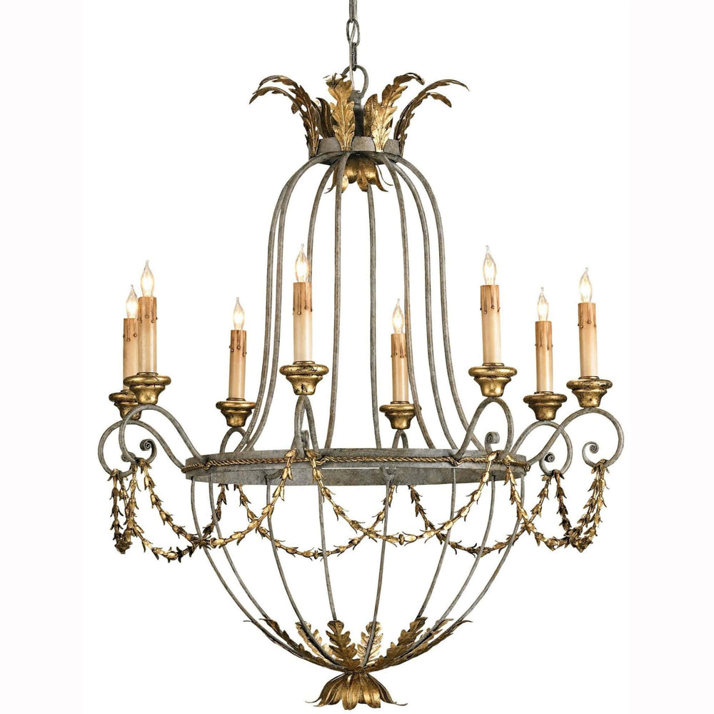 Elegance Chandelier - Lighting - High Fashion Home