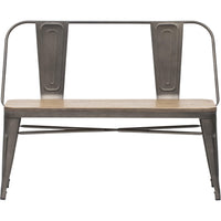 Elio Double Bench - Furniture - Chaises & Benches