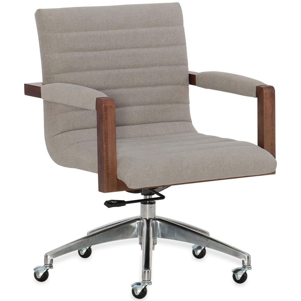 Elon Swivel Office Chair - Furniture - Chairs - High Fashion Home