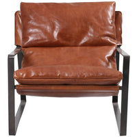 Emmett Sling Chair, Dakota Tobacco - Furniture - Chairs - Leather