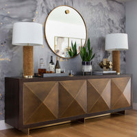 Ombre Hurricane with Iron Stand - Accessories - High Fashion Home