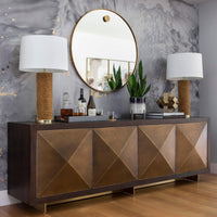 Abstract Sculpture, Brass - Accessories - High Fashion Home