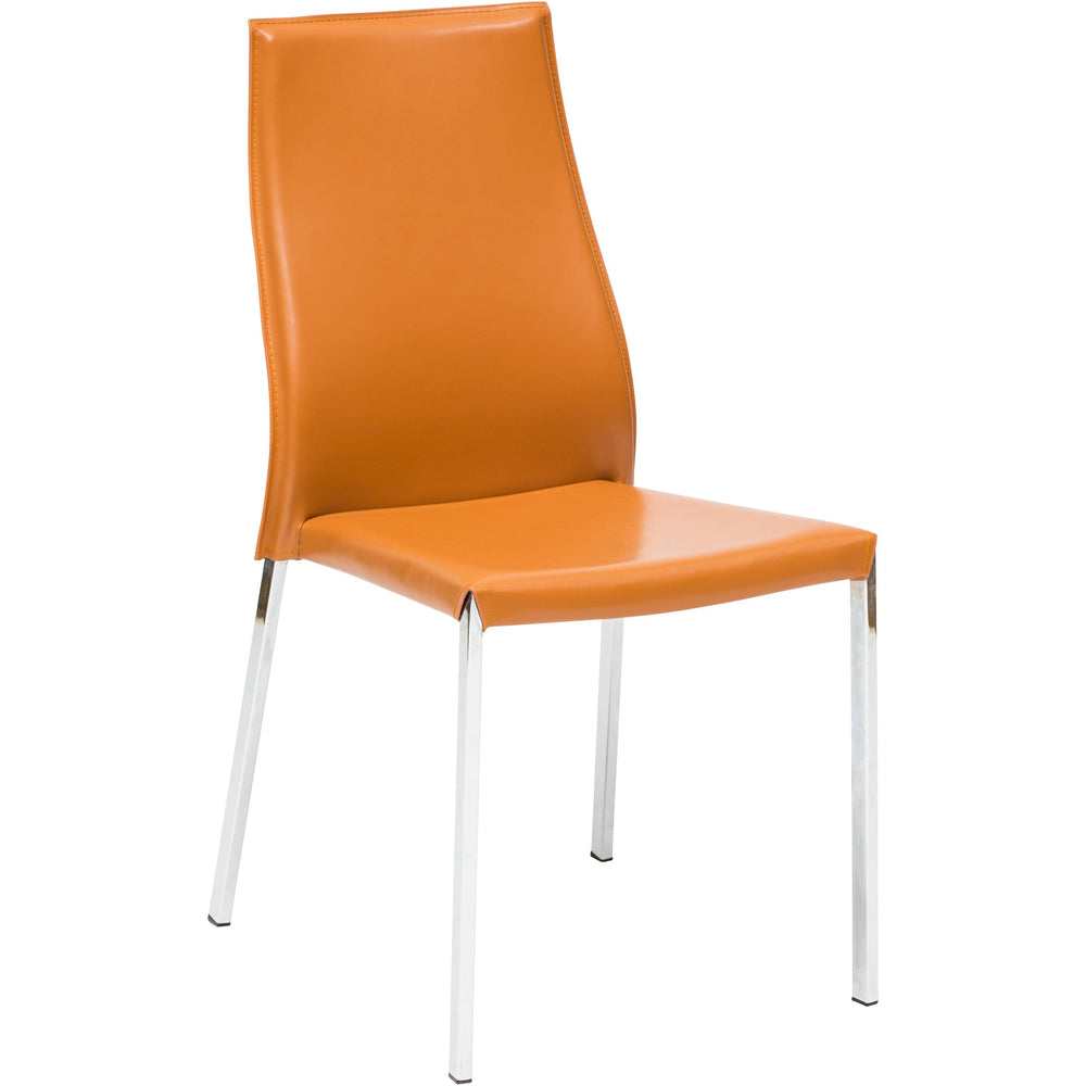 Eric Dining Chair, Ochre - Furniture