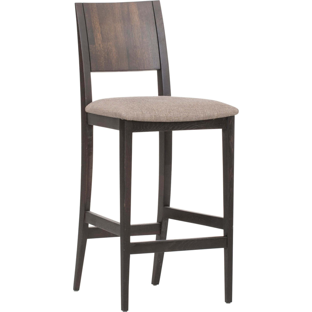 Eska Counter Stool, Brown - Furniture - Dining - High Fashion Home
