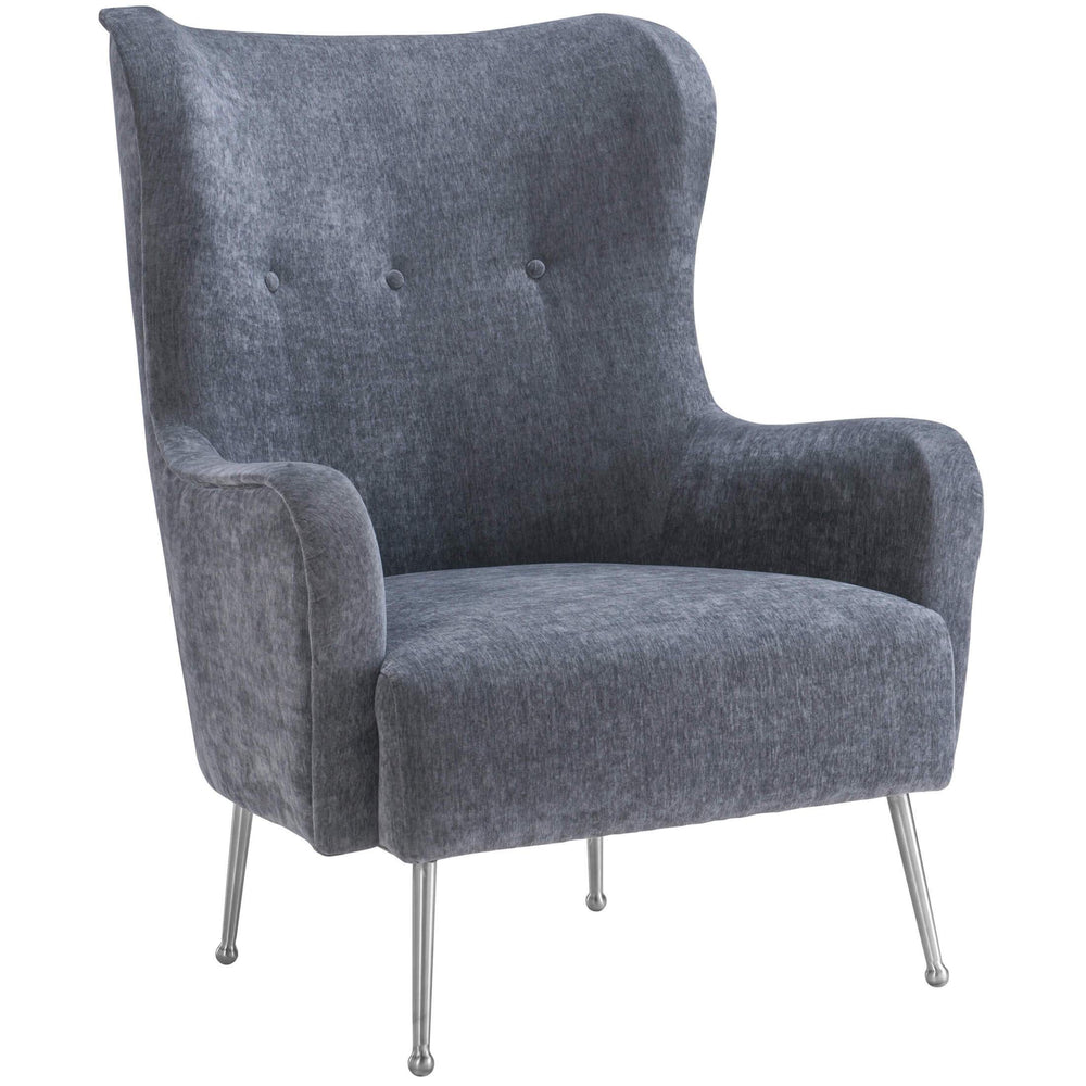 Ethan Chair, Grey  - Furniture - Chairs - Fabric