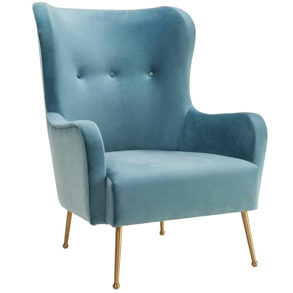 Ethan Chair, Sea Blue - Furniture - Chairs - High Fashion Home
